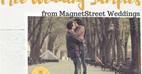 Request Free Wedding Samples From Magnetstreet Weddings