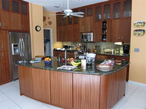 custom sapele wood kitchen cabinets  natural designs