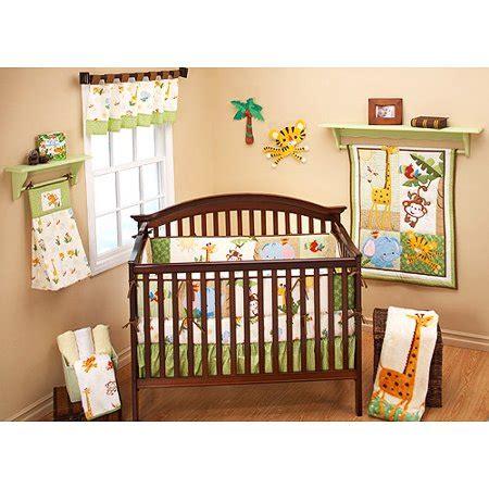 crib set walmart fisher price rainforest friends 4 crib bedding set