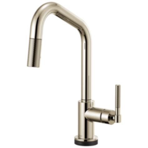 Litze? SmartTouch® Pull Down Faucet with Angles Spout and