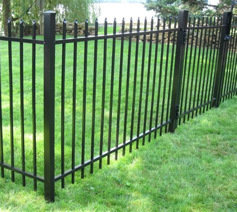 metal fencing costs how much does it cost to install a iron fence vs wood meaning lambertville landscape