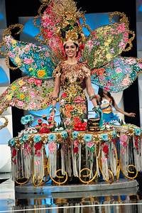 IN PHOTOS: The showstopping national costumes at Miss ...