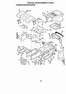 Craftsman 917270430 User Manual 13 5 Hp 38 Mower 5spd Lawn