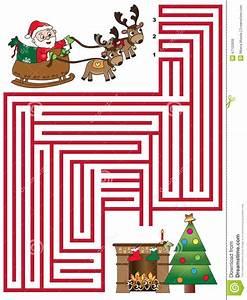 Weihnachtsspiel Stock Abbildung Illustration Von Comics