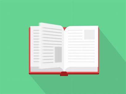 Gifs Animation Flip Agenda Livros Flipping Books