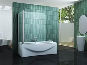 Duschwand Für Badewanne : perinto 70 75 80 120x140 badewannen faltwand duschwand ~ Michelbontemps.com Haus und Dekorationen