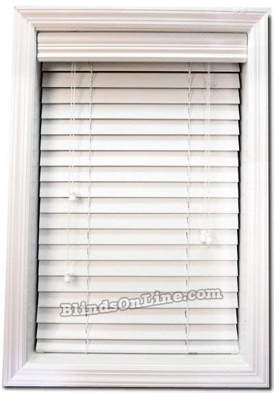 white faux wood blinds affordable 2 quot white faux wood blinds buy