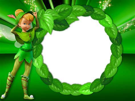 green transparent kids frame  tinkerbell fairy