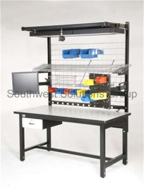 industrial work benches ergonomic production workstation