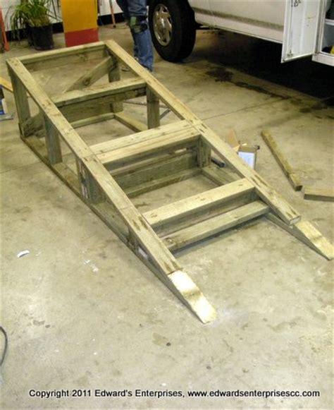 woodwork wood ramp plans  plans