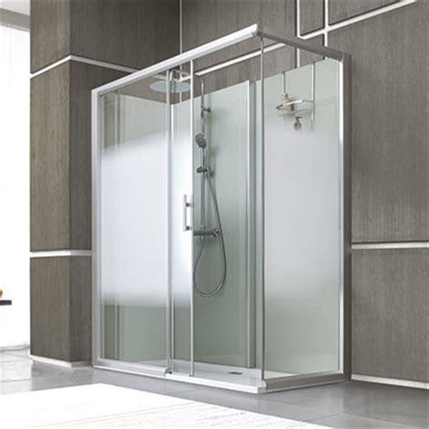 Cabine de douche Leda Access porte coulissante  Espace Aubade