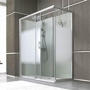 Cabine De Douche 170x80 : cabine de douche leda access porte coulissante espace aubade ~ Edinachiropracticcenter.com Idées de Décoration