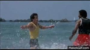 Rocky 3 - Training Scene (High Quality) on Make a GIF
