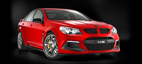hsv reveals trio  limited edition  models