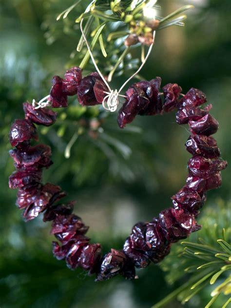 christmas tree decorations   natural materials