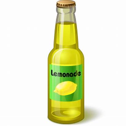 Lemonade Bottle Clipart Icon Clip
