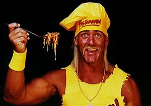 WCW eBay Find of the Day: Hulk Hogan Pastamania Shirt ...