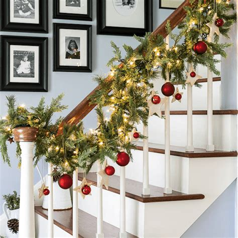 How To Decorate Banister With Garland by 9 Beautiful Staircase Decorations For