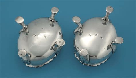 george silver master salts open iii pair hennell david