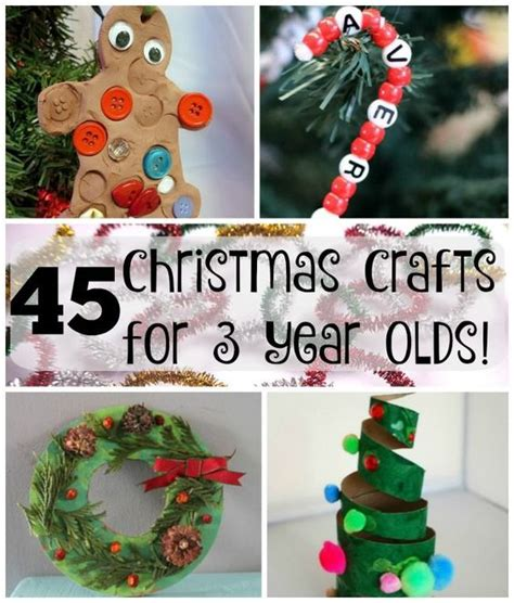 christmas craft for 3 year olds 45 crafts for 3 year olds crafts for preschoolers and