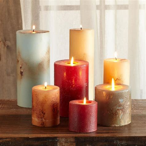 Wax For Candle by Paraffin Wax Pillar Candles Robert Redford S Sundance