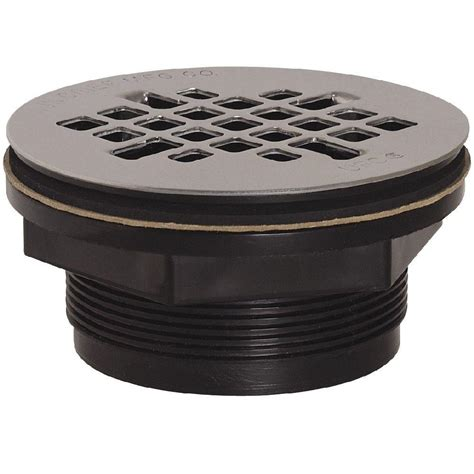 abs shower drain 2 in black abs shower drain with strainer 828 2apk the