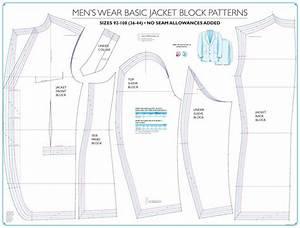 Mens Tailored Basic Jacket Block Sew Essential