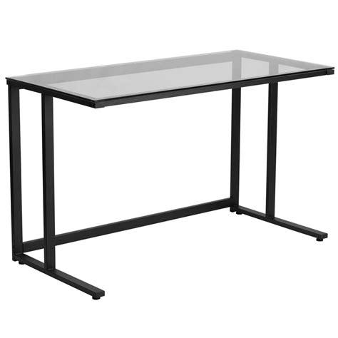 modern glass top desk modern desks bradshaw desk eurway modern furniture