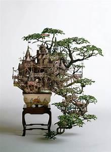 Wilderness bonsai tree houses by takanori aiba for Bonsai tree houses by takanori aiba