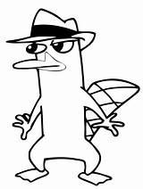 Platypus Perry Agent Coloring Pages Sneaking Phineas Printable Ferb Around Colouring Stencil Stencils Drawing Colour Clipart Supercoloring Advertisement Getcoloringpages Disney sketch template