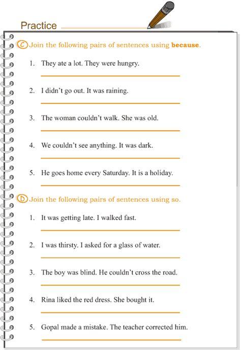 grade 3 grammar lesson 15 conjunctions 4 esl 2
