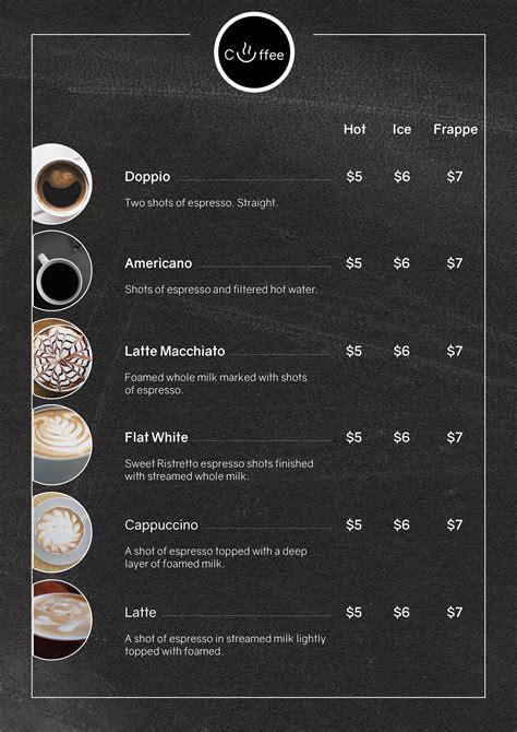 7,000+ vectors, stock photos & psd files. Coffee Menu Flyer Template by KAterPorsche   Codester