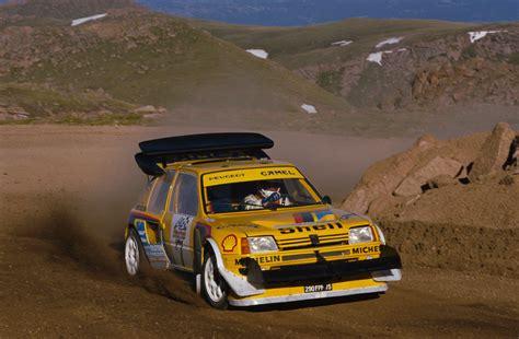 peugeot paris 1987 peugeot 205 t16 pikes peak peugeot supercars net
