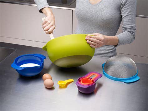 joseph joseph nesting compact food preparation set  piece multi color cutlery