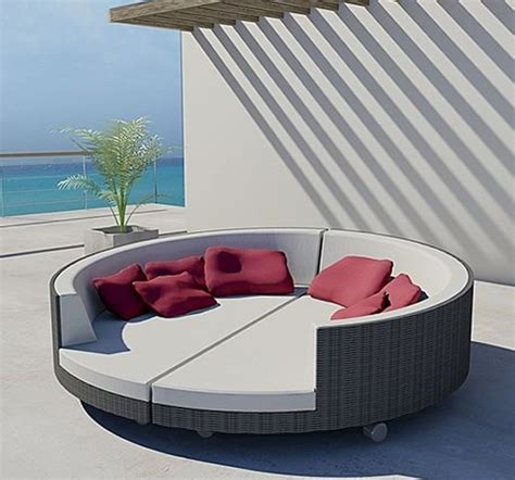 wood furniture outdoor lounge beds