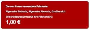 Fahrpreis Berechnen : geld zur ck bei versp tung die hvv alibi garantie ~ Themetempest.com Abrechnung