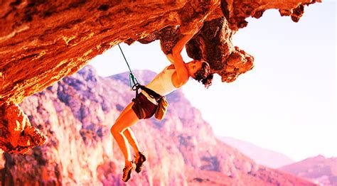 How Overcome Fear Heights Rock Climbing