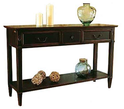 dos de canapé console directoire 1tiroir bois meuble d 39 appoint