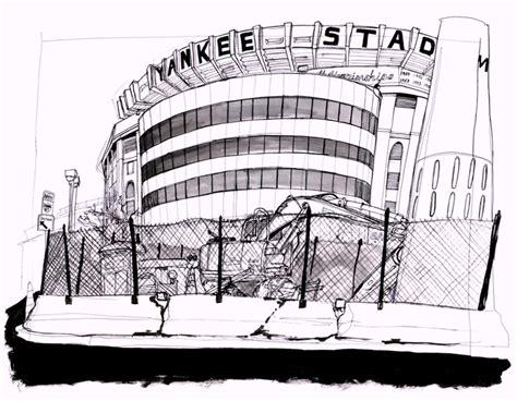 yankee stadium newyork coloring pages