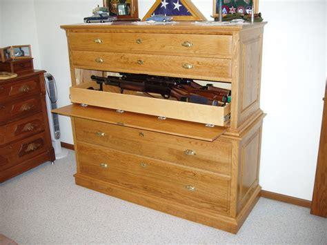 hidden gun cabinet furniture gun cabinet concealed in dresser stashvault