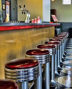 Americana - 1950's Diner Photograph by Paul Ward