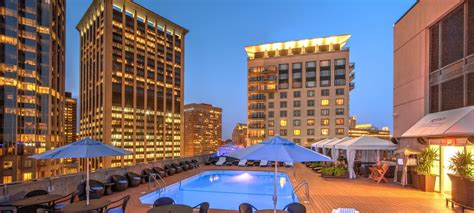 boston hotels  pools  colonnade