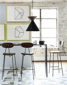 Table Haute Salle A Manger : id e d co salle manger la salle manger style industriel ~ Teatrodelosmanantiales.com Idées de Décoration