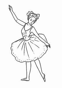 Ballett 5 Ausmalbilder Kostenlos