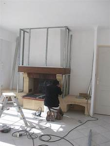 Relooker Une Cheminée Rustique : relooker une cheminee home pinterest ~ Nature-et-papiers.com Idées de Décoration
