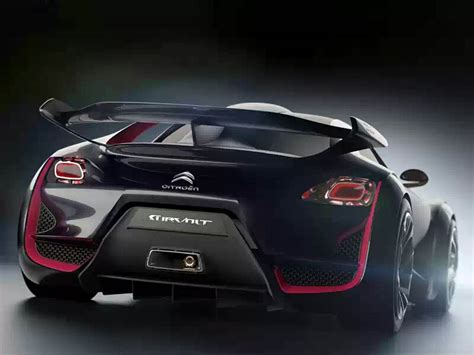 citroen sports car wallpapers citroen survolt concept car wallpapers