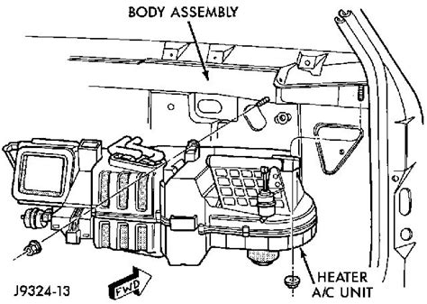Picture Wiring Diagram 2000 Ram 2500 by Ram 1500 Heater Replace Search