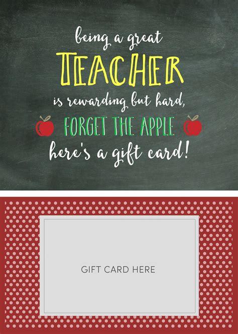 teacher appreciation gift card holder lil luna