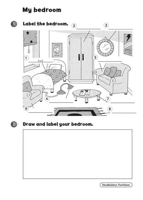 Квартира, комнаты и мебель на английском языке