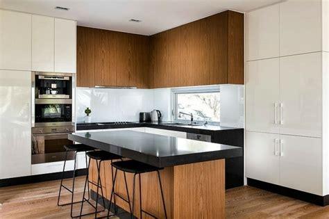 cuisine bois clair moderne 99 idées de cuisine moderne où le bois est à la mode